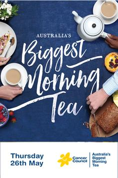 Biggest Morning Tea poster