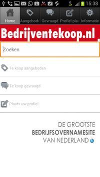 Bedrijventekoop.nl poster