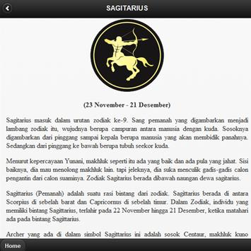 Arti Zodiak Bintang apk screenshot