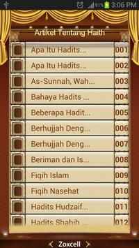 Artikel Tentang Hadits Melayu poster