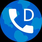 Cheap roaming calls icon