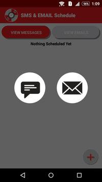 SMS EMAIL Schedule apk screenshot