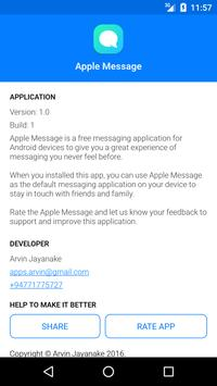 Apple Message apk screenshot