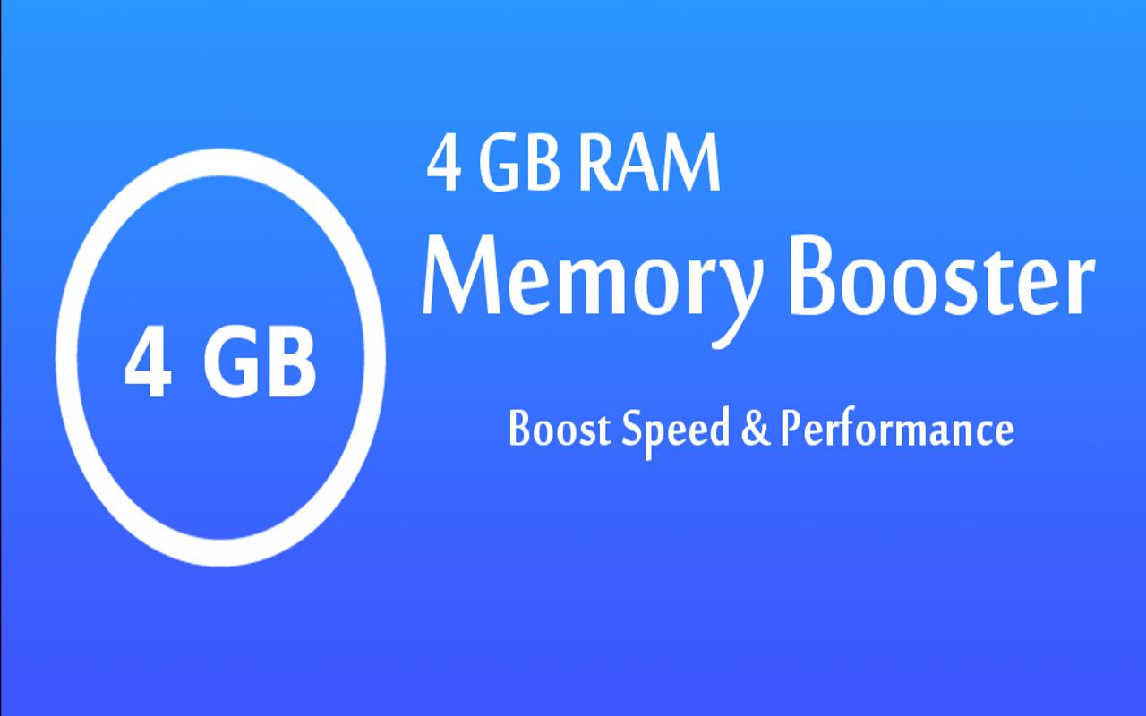 4 gb ram memory booster apk download free tools app for android. Black Bedroom Furniture Sets. Home Design Ideas