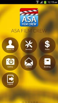 ASA Film Crew poster