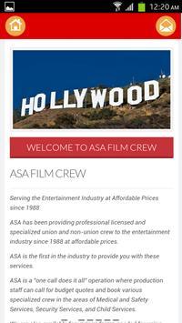 ASA Film Crew apk screenshot