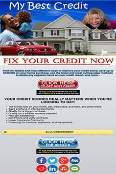 My Best Credit apk screenshot