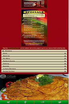 La Perle Restaurant apk screenshot