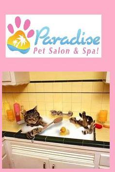 Paradise Pet Salon Chicago poster