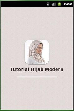 Tutorial Hijab Modern poster