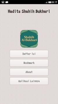 Kumpulan Hadits Shahih Bukhari poster