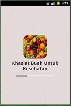 Khasiat Buah Untuk Kesehatan poster
