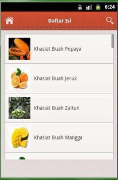 Khasiat Buah Untuk Kesehatan apk screenshot