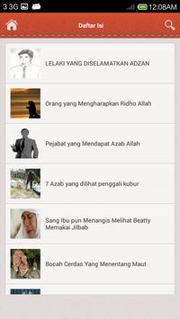 Kumpulan Kisah Nyata apk screenshot