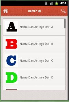 Nama Bayi apk screenshot