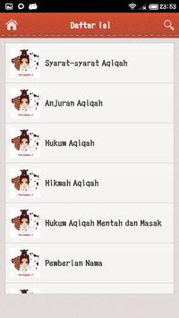 Panduan Qurban Dan Aqiqah apk screenshot
