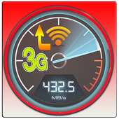 Optimize internet 3g and 4g icon