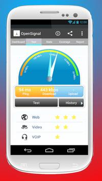 Optimize internet 3g and 4g poster