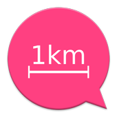 1km Chat icon