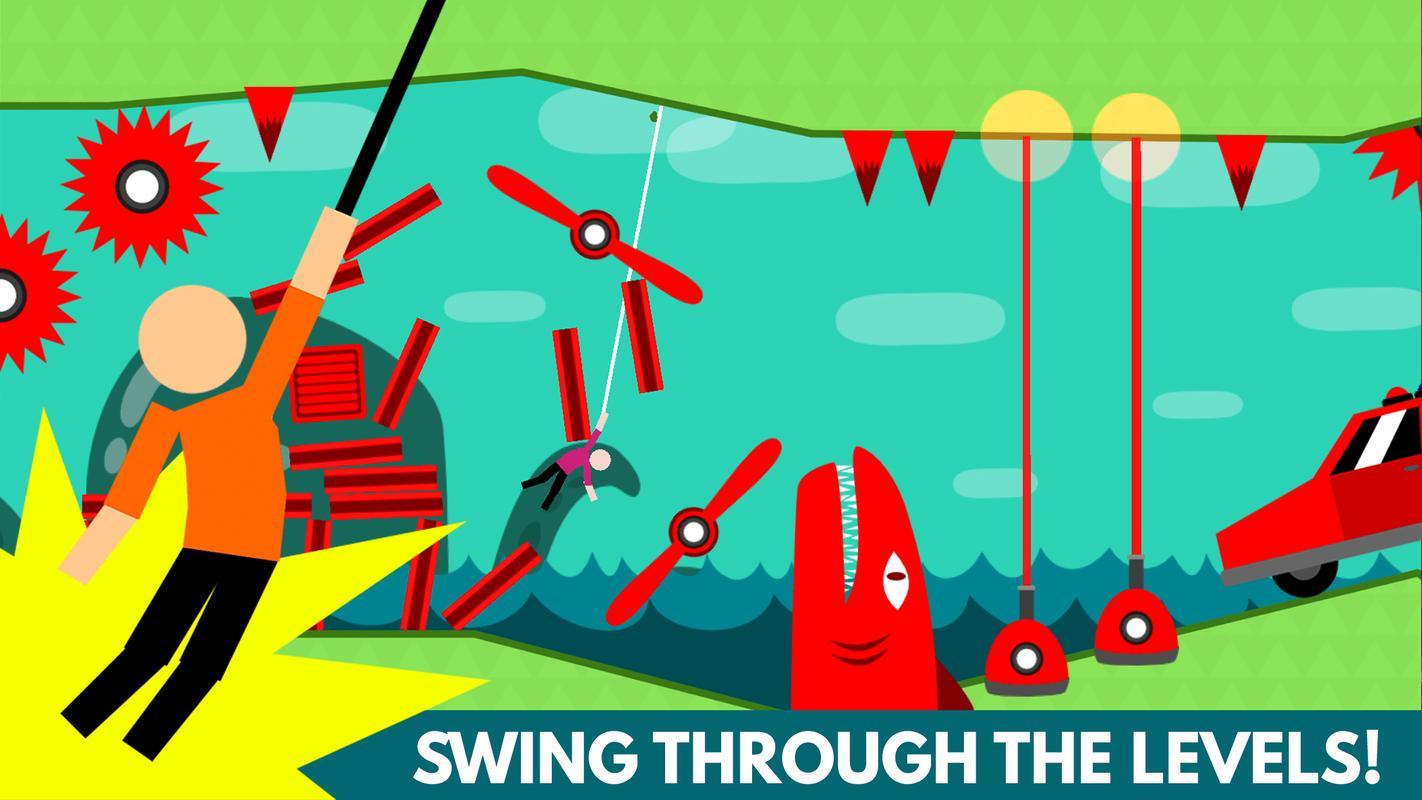 Hanger World - Rope Swing APK Download - Free Arcade GAME ...