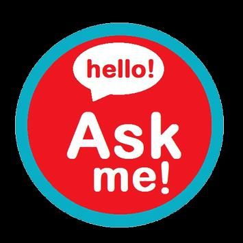 Ask me messenger poster