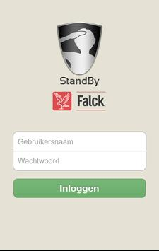 StandByFalck poster