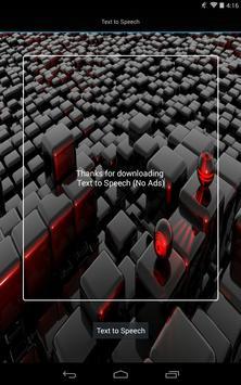Text to Speech - No Ads apk screenshot