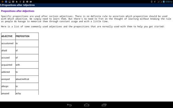 Spoken English 2 apk screenshot