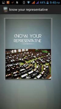 Know Your Representative apk screenshot
