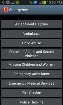 Mangalore Helpline Numbers apk screenshot