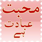 Poetry Mohabbat Ibadat Hai icon