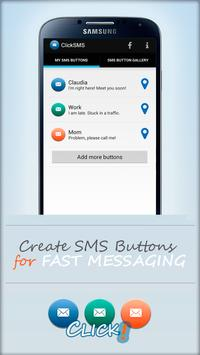 ClickSMS Location Messenger apk screenshot