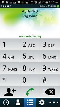 AsiaPro apk screenshot