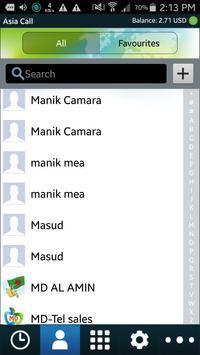 Asia Call Dialer apk screenshot