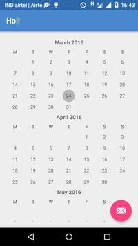 India Holidays 2016 apk screenshot