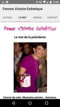Femme Victoire Esthetique apk screenshot