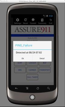 Assure911 Mobile App 1.2 apk screenshot