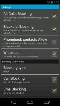 Smart Blocker apk screenshot