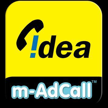Idea m-AdCall poster