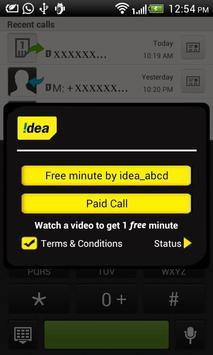 Idea m-AdCall apk screenshot