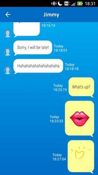 ZenWatch Message- private talk apk screenshot