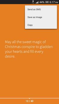 Merry Christmas SMS & Wishes apk screenshot