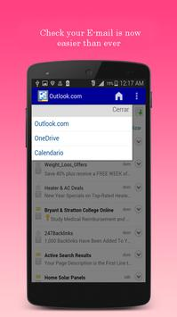 Connect hotmail email app apk screenshot