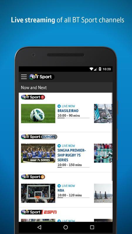 BT Sport APK Download - Free Entertainment APP for Android | APKPure.com