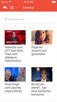 Haberdar apk screenshot