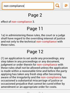 Malaysia Rules of Court 2012 apk screenshot
