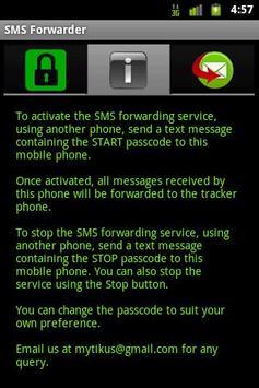 SMS Forwarder apk screenshot