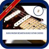 Musik dan Kunci Gitar Chord icon