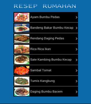 Buku Resep Masakan Lezat apk screenshot