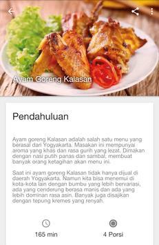 Buku Resep Masakan AyamLengkap apk screenshot